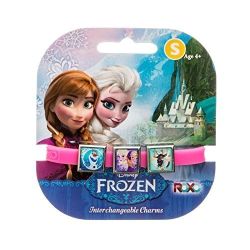 Disney Frozen: 3 Charms Roxo Band (petites, rose, Sven Olaf, Anna et Elsa) [Jouet]