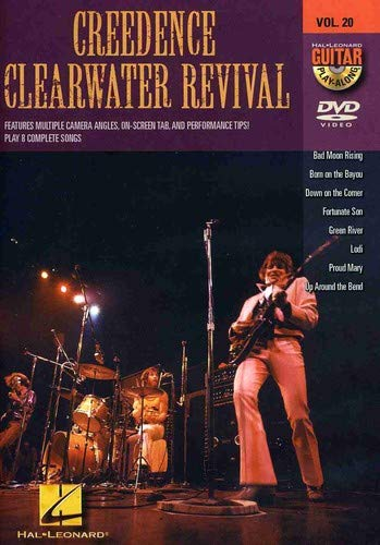 Guitar Play-Along DVD Volume 20 Creedence Clearwater Revival