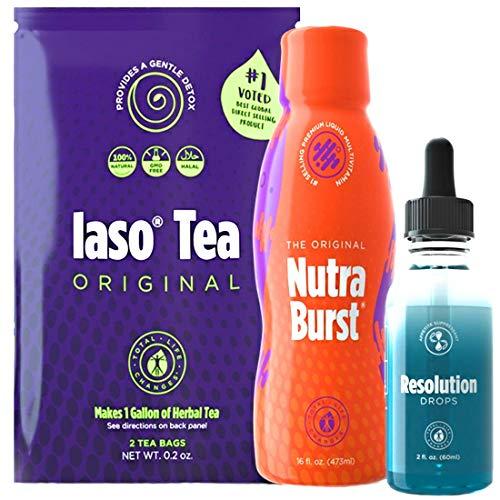 Iaso tea, Resolution Drops & Nutraburst