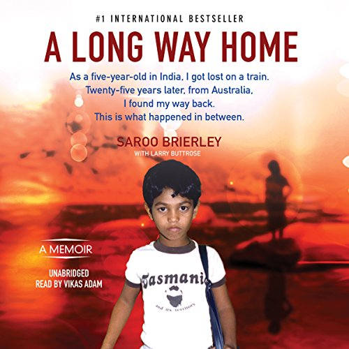 A Long Way Home audiobook cover art