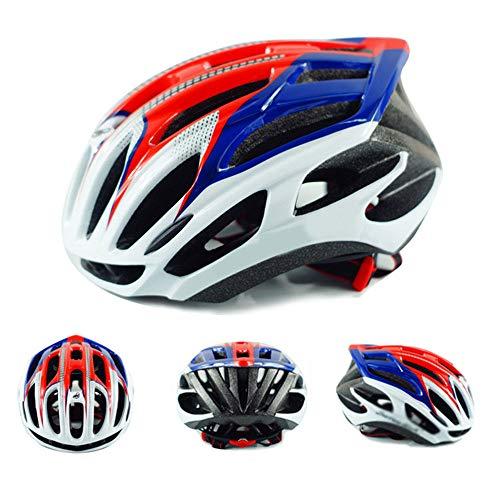 HYM Mountainbike-Helm/Fahrrad Fahrradhelm, Männer/Frauen Fahrradhelm Erwachsene Integral geformte Rennrad Mountainbike-Helm,F-M