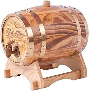 yunyu Baril de chêne Baril de vin Baril de chêne Stockage de Baril Vin et spiritueux vieillis Baril de vin Casier à vin Vi...