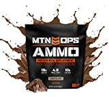 MTN OPS Ammo Protein Meal Replacement Powder - 30 Servings, Chocolate, Packaging May Vary