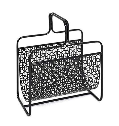 HAKU Möbel Zeitungsständer, Metall, 22 x 37 x 45 cm