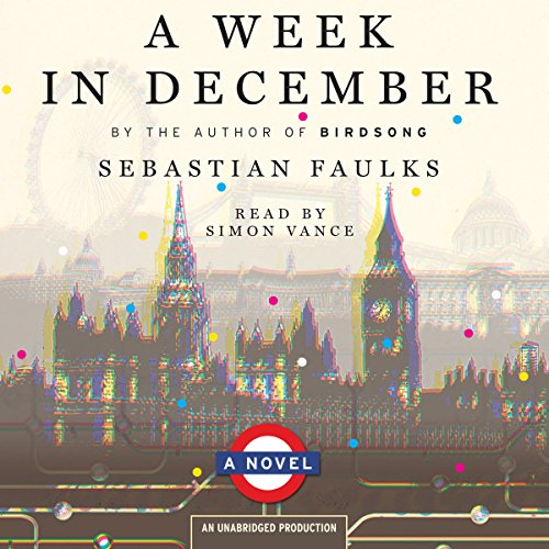 A Week in December Audiobook By Sebastian Faulks cover art