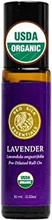 Organic Lavender Essential Oil Roll on, Lavandula Angustifolia, 100% Pure USDA Certified Aromatherapy for Sleep, Anxiety, ...