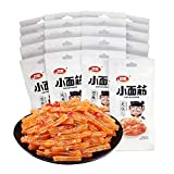 WeiLong Latiao, Set of 20 packs Chinese Special Spicy Snack Food, Spicy Strip, Vegan - Kosher - Gluten-Free, Independent small package, for Jobs and Party Casual Vegan Snacks