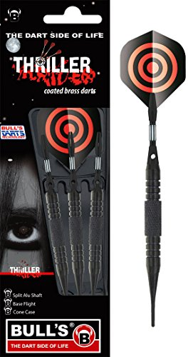 Unbekannt BULL'S Thriller Soft Dart Pfeile Diamond Flight Teufel 16g