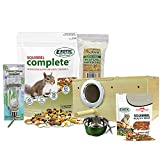 Starter Package for Squirrels - Includes Healthy Food, Nest Box, Nesting Material, Natural Treat,...