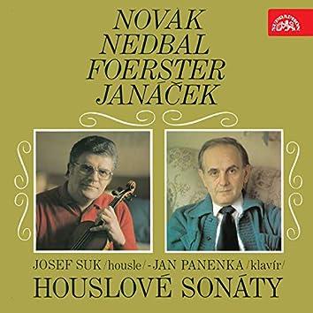 Novák, Nedbal, Foerster, Janáček: Violin Sonatas