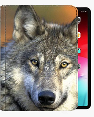 For iPad Pro 9.7 inch Case Cover,Animal wolf Case Slim Shell Cover For iPad Pro 9.7