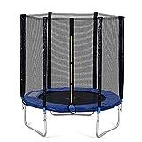 NZXVSE Outdoor Trampolin 185 cm blau,Outdoor-Trampolin mit Sicherheitszaun und Leiter,Gartentrampolin mit 80 kg,hat den GS- und TÜV-Test bestanden