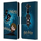 Head Case Designs Officiel Harry Potter Expecto Patronum Deathly Hallows III Coque en Cuir à...