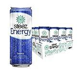 Steaz Organic Energy Drink, Berry, 12 FL OZ (Pack of 12)