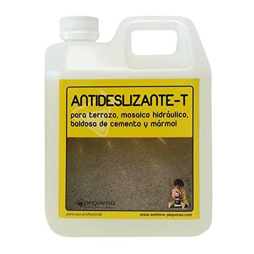 Liquido antideslizante para suelos de marmol, terrazo y hormigon. Envase 1 litro.