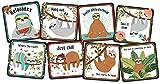 Sloth Coasters (8-piece Set)