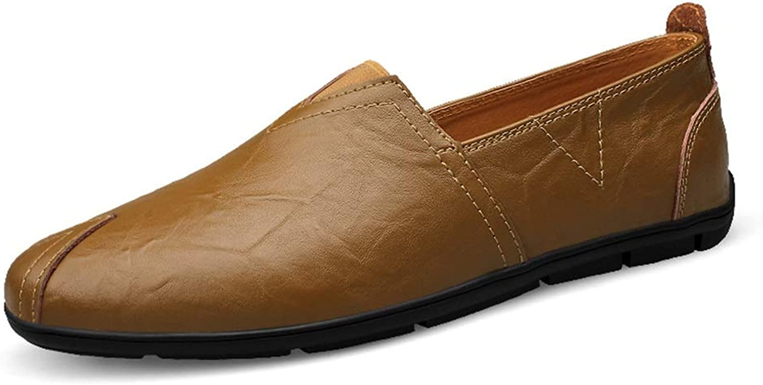 Men's Fashionable Driving Loafers Casual Comfortable Simple with Dual -Purpose Soft Boat Moccasins shoes Cricket shoes
