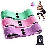 Bande Elastique Fitness – Bande de Resistance Set (3) - Équipement d'Exercices...
