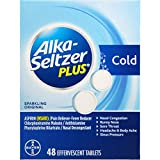 Alka-Seltzer Plus Cold Medicine, 48 Count