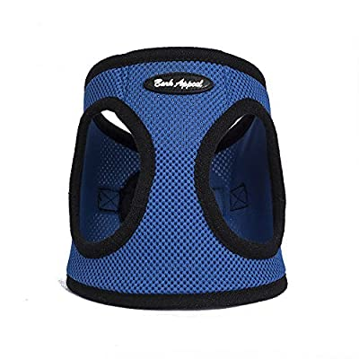 Bark Appeal Mesh Step in Harness, Blue