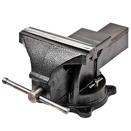 Schraubstock 200 mm Parallelschraubstock Drehbar 360° mit Amboss für Werkbank