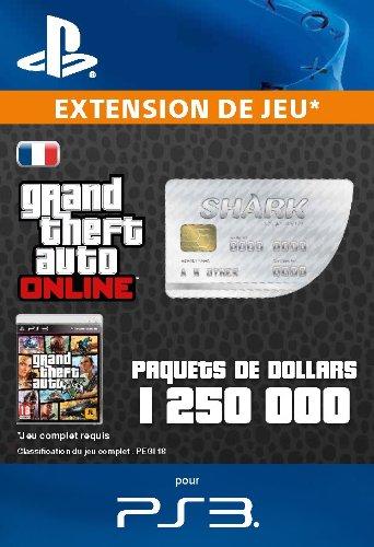 Paquets de dollars - Great White Shark [Code Jeu PSN PS3 - Compte français]