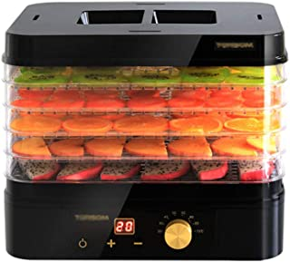 JUAN Food Dehydrator, Five-Layer Tray Environmentally Friendly ABS Material Temperature Adjustable Fruit And Meat Dehydrator