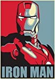 IronMan Hope, Marvel-Poster, klein, A4, Captain America