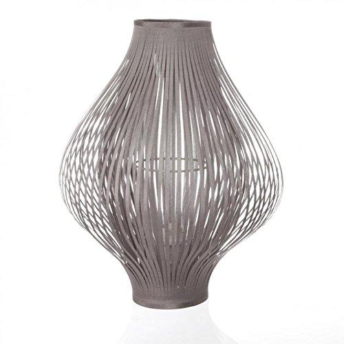 Paris Prix Atmosphera Créateur d'intérieur - Lampe à Poser Pliante 45cm Gris