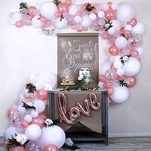 Amor Globos Cumpleaños, Arco Para Globos, globo confeti para fiesta de cumpleaños boda baby baby shower graduación halloween, decoraciones para el hogar 100pcs