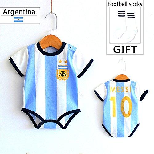 Copa Mundial de Fútbol 2018 Ropa para bebé