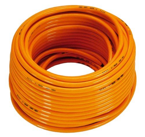 as - Schwabe 59350 Baustellenkabel-Ring 230V 16A, 50m H07BQ-F 3G1,5, orange, IP44 Gewerbe, Baustelle