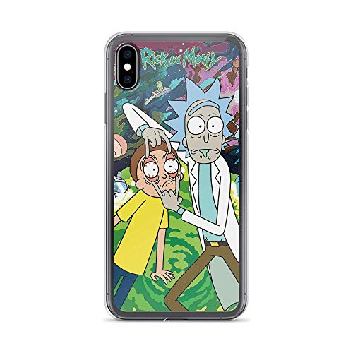 Compatible con iPhone 6 Plus / 6S Plus Case Regreting Rick Jokers Batman Morty Cosplay Arts Funny American Animated Series Pure Clear Phone Cases Cover