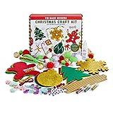 Christmas Crafts for Kids - Kid Made Modern Christmas Craft Kit