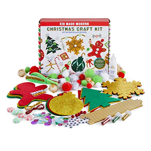 Christmas Crafts for Kids - Kid Made Modern Christmas Craft Kit