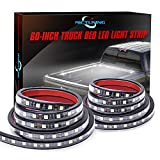 MICTUNING 2Pcs 60 Inch White LED Cargo Truck Bed Light Strip Lamp Waterproof...