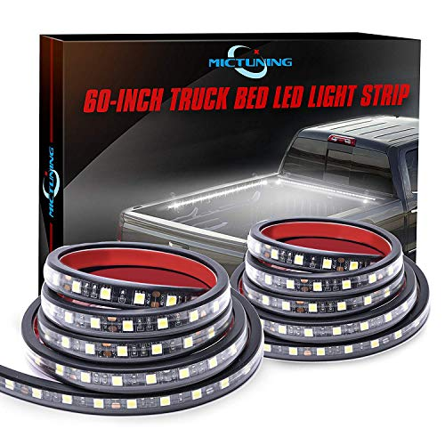 Truck bed LED light strip - mictuning