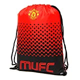 (Manchester United FC) - Official Football Merchandise - Sports Backpack with Adjustable Drawstring - Various Teams