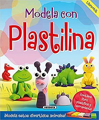 Modela con plastilina (Hobbies creativos)