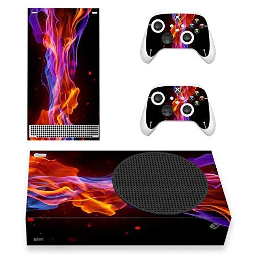 AXDNH para Xbox Series S Skin Stickers Cubierta De Calcomanías para Xbox Series S Console Y 2 Controladores para Xbox Series S Accesorios Pegatinas Adhesivas Removibles De PVC,0515