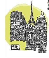11x16城DIYスクラップブッキングフォトアルバム用透明クリアシリコンスタンプシール装飾クリアスタンプ