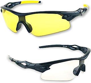iLumen8 BEST Shooting Glasses UV Blacklight Yellow Vision Safety Eye protection