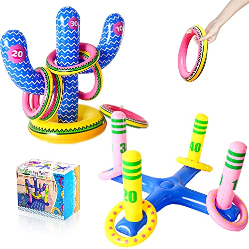 FindUWill Ring Toss Game, (Set of 2…