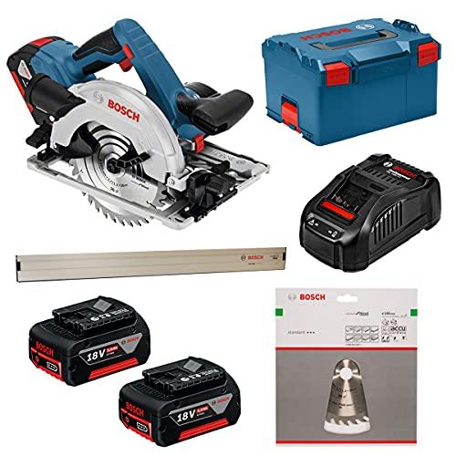 Bosch Professional 06016A2102 Gks 18V-57 G 3400 Rpm 18V Ión de Litio, Negro / Azul