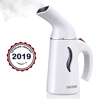 MASTEAM Steamer for Clothes, 140ml Portable Travel Garment Steamer, Mini Clothes Steamer for Home/Travel, Mini Iron/Clean/Soften/Sterilize/Defrost/Refresh/Humidify All in one, Clothes Wrinkle Remover