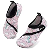 VIFUUR Kids Water Shoes Girls Boys Quick Dry Aqua Socks for Beach Swim...