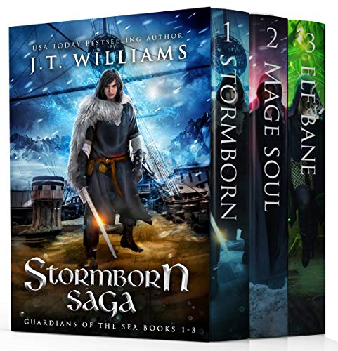 Stormborn Saga: Guardian of the Seas (A Tale of the Dwemhar Trilogy) (Stormborn Saga Series Boxset Book 1) by [J.T. Williams]