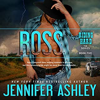 Ross     Riding Hard, Book 5              Written by:                                                                                                                                 Jennifer Ashley                               Narrated by:                                                                                                                                 Eric G. Dove                      Length: 5 hrs and 32 mins     1 rating     Overall 5.0