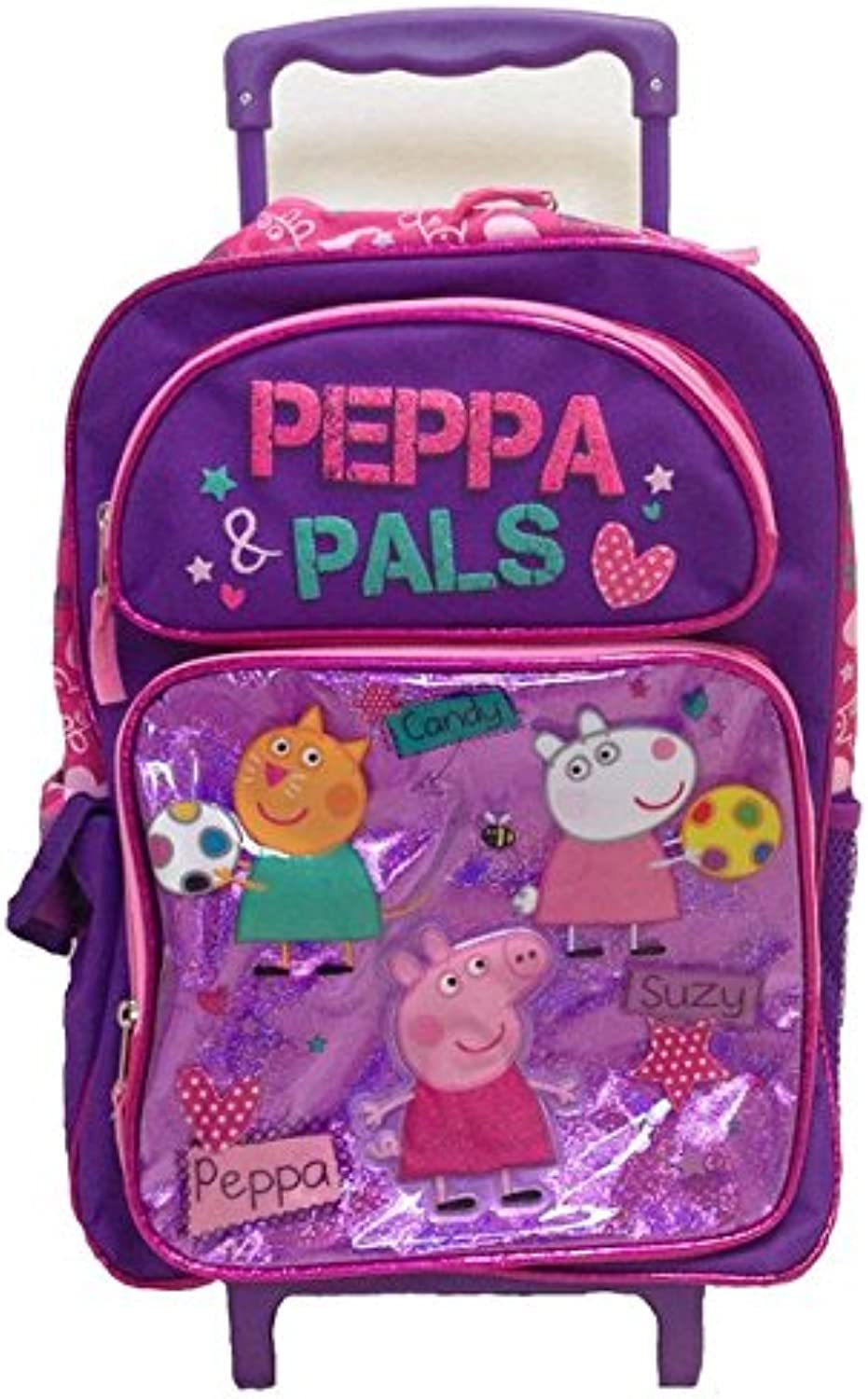 New Peppa Peppa Peppa Pig Candy-suzy Large Rolling Backpack B00ZVYY1GO | Exquisite Handwerkskunst  87c410