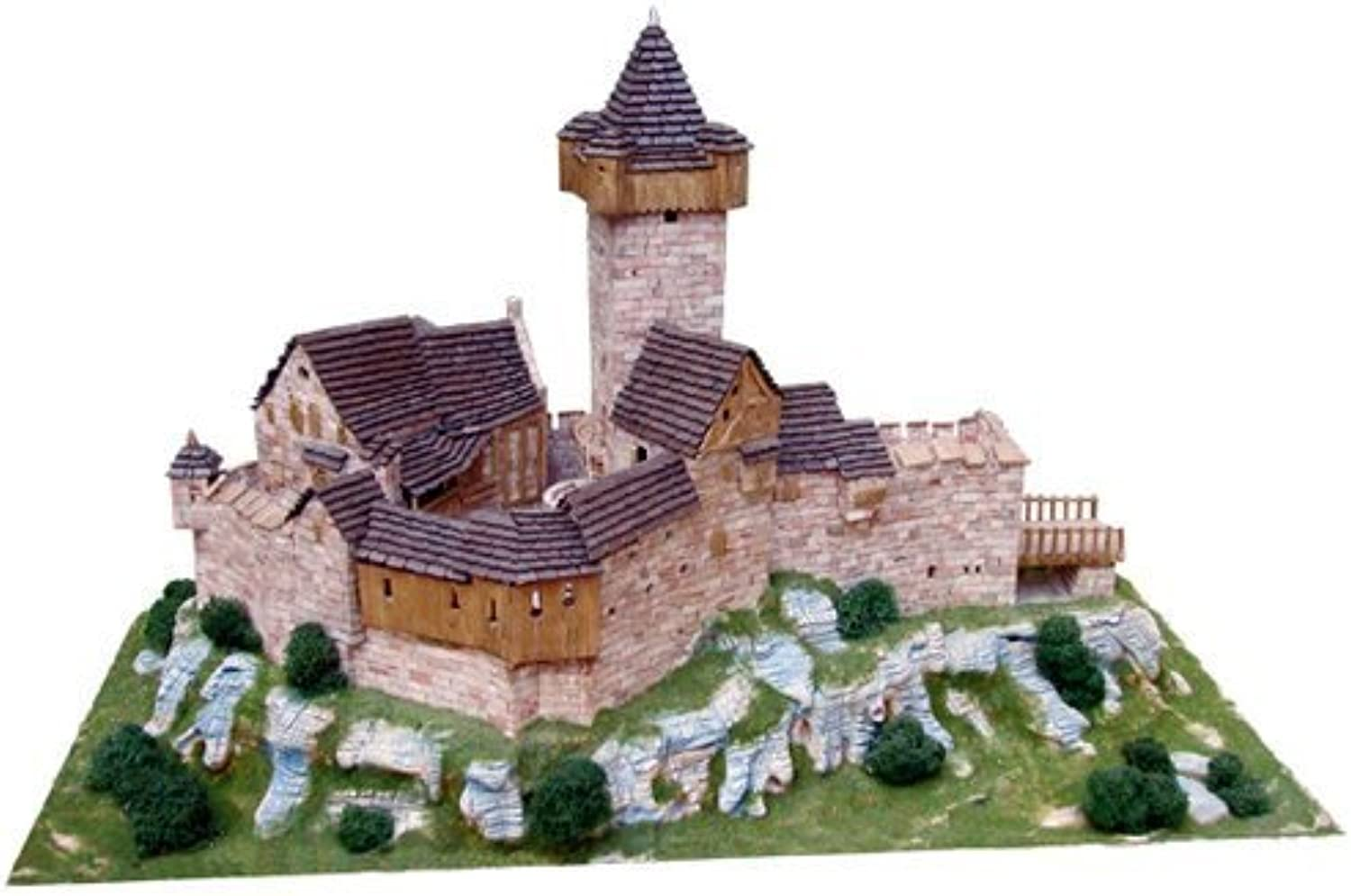 Burg Falkenstein building kit - HO Scale by Aedes Ars